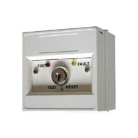 Remote test sleutelschakelaar voor brand & storing
