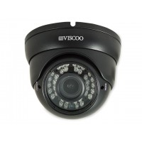 HD-AHD, TVI, 960H, CVI dome camera, 1.3MP, 2.8-12mm lens, Zwart
