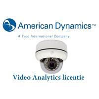 Licentie American Dynamics Analytics VideoEdge