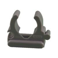Open drukzadel 19-22mm, grijs, per 100 stuks