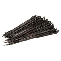 Tyrap/bundelband, 100x2.5mm, zwart, per 100