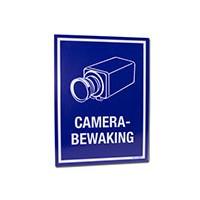 Bord met opdruk camerabewaking