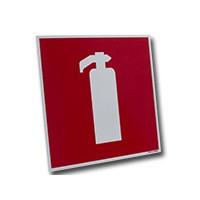Bord brandblusser 200 x200mm