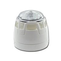 Sirene/flitser, met witte onderbak en rode LED
