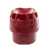 Rode sirene, met rode onderbak, IP65, 32 tonen