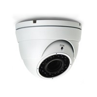 Vandaalbestendige HD-TVI dome camera, 2.8-12mm