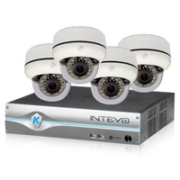 Intevo starterspakket, 3TB HDD en 4 IP 720P cams
