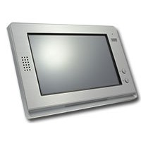 "10"" digitale kleuren touchscreen"