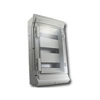 Installatiekast voor 8 tot 12 intercom modules