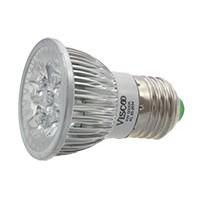 LED Spotlamp, E27, 4W, 6000K