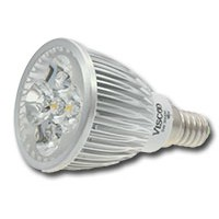 LED dimbare spotlamp, E14, 5WD, 3000K