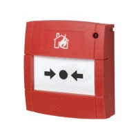 Handbrandmelder met LED en flex element, rood