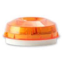 Adresseerbare wandflitser met oranje kap