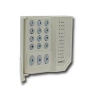 Bedienpaneel LED voor 8 zones met klep