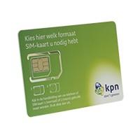 Prepaid kaart met €10 beltegoed