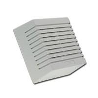 Witte vierkante binnensirene, 12V
