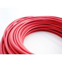 Solar kabel, 1 x 4mm², rood, per 100 meter
