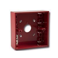 Opbouwbak voor M700 handmelders, rood