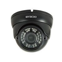 TVI dome camera, FULL-HD, 2.8-12mm lens, Zwart