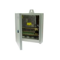 9-kanaals weerbestendige voedingskast, 10A