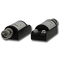 UTP video balun met schroefterminals