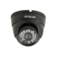 HD-AHD dome camera, 1.3MP, 3.6mm lens (zwart)