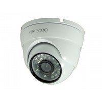 HD-AHD dome camera, 1.3MP, 3.6mm lens (wit)
