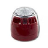 Sirene/flitser, met rode onderbak en rode LED