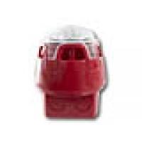 Sirene/flitser, met rode onderbak en witte LED