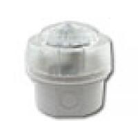 Flitser, met witte diepe onderbak, witte LED,IP65