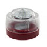 Flitser, met rode onderbak en witte LED
