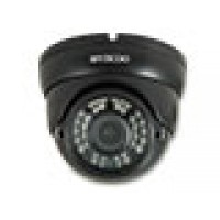 Weerbestendige IR dome camera, 720P, IP65, zwart
