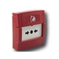 Handmelder rood met wisselcontact (max. 30V DC)