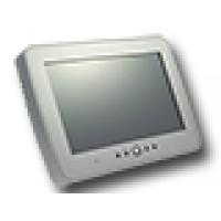 """Bedienpaneel/klavier 7"""" touchscreen; zilver"""