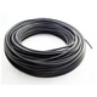 Solar kabel, 1 x 4mm², zwart, per 100 meter