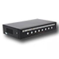 8-kanaals quad video processor