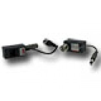 Balun set voor video en voeding