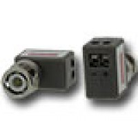 Video balun met schroefterminals, haaks type