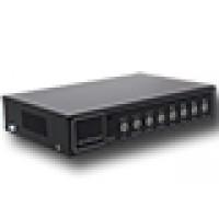 8-kanaals quad video processor met audio